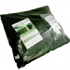 Сетка для затенения 55%(фасованная3*10м,в комп с клипсой 27шт)цв зел