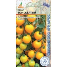 Томат Том желтый 10шт (Россия) Агрос