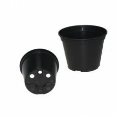 Горшок д/рассады круг 190х145 (V 3л)черный лист 1,3мм(440шт)