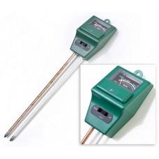 Измеритель кислотности почвы электронный 3в1 (100шт/кор) 06-091 Тех